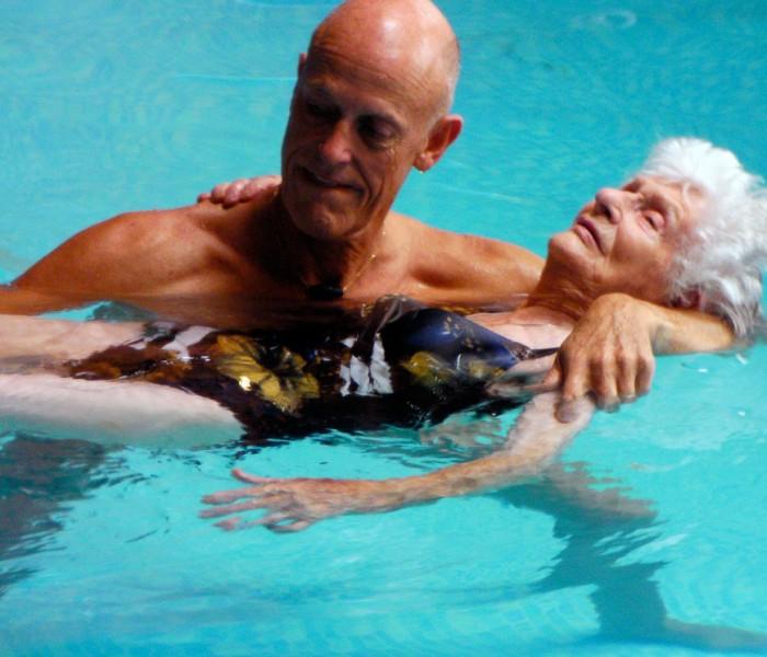 Massaggio Watsu per ripristinare l'equilibrio energetico