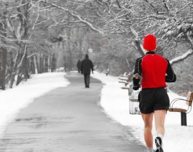 In inverno, non bisogna rinunciare alla corsa