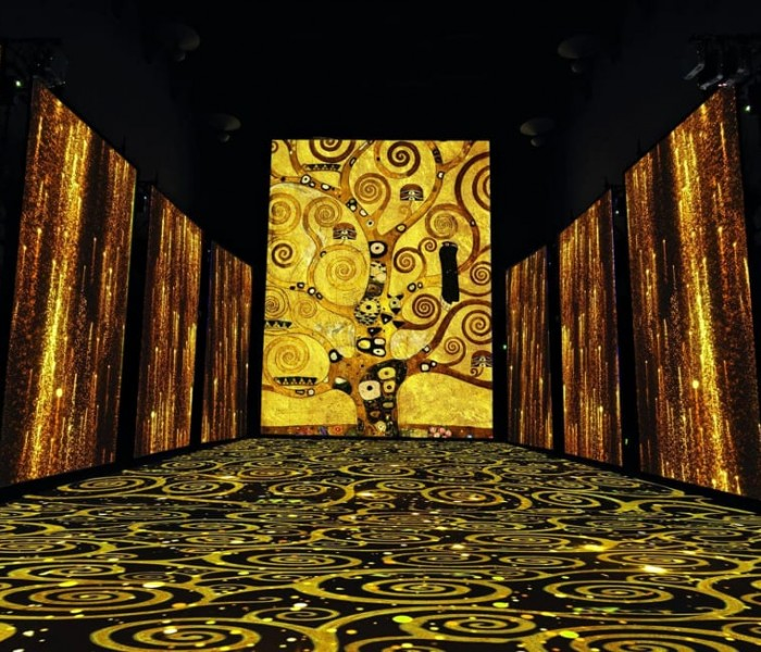 Full immersion nel mondo di Klimt