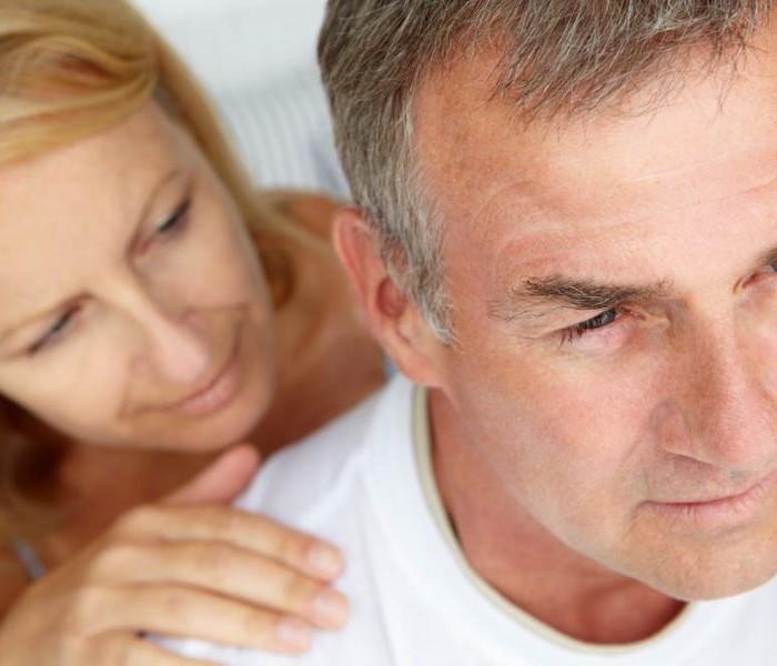 """Anche l'uomo va in """"menopausa"""".."""