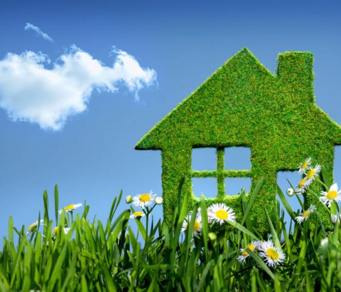 "Una casa tutta ""green"""