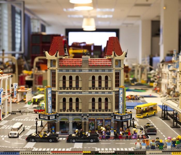 Un mondo di mattoncini Lego