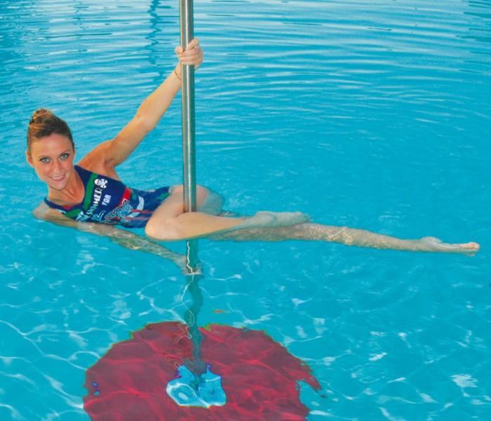 Una nuova tendenza del fitness in acqua