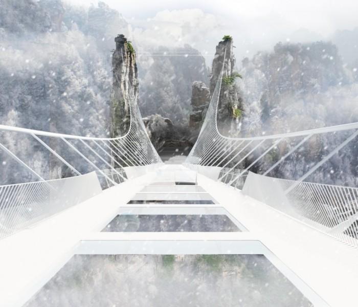 Il ponte tra le nuvole