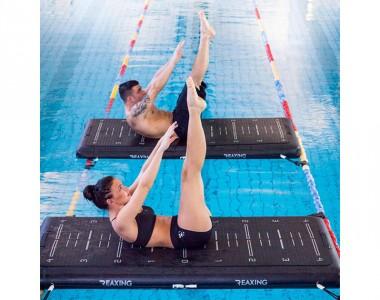 Reax Raft, un allenamento a prova di equilibrio